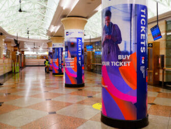 New Jersey Transit in New York - Station