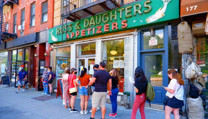 Best Bagels in New York - Russ and Daughters