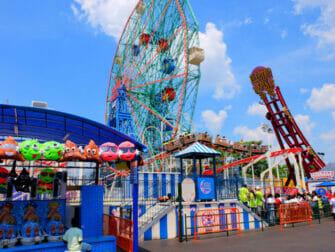 Deno's Wonder Wheel Amusement Park in Coney Island - Attractions