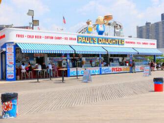 Deno's Wonder Wheel Amusement Park in Coney Island - Snack Bar
