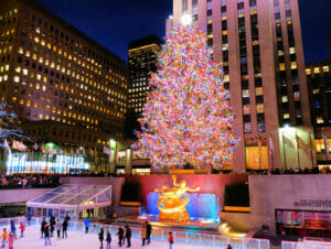 Rockefeller Center Christmas Tree Lighting Ceremony - Tree